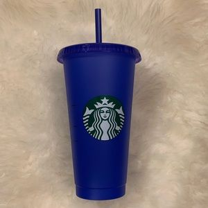 Starbucks Color Changing Reusable Cold Cup